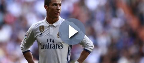 Cristiano Ronaldo contra el Alavés en liga