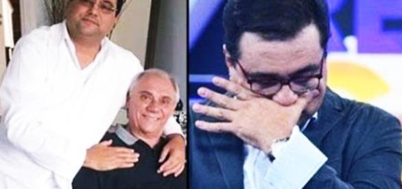Geraldo Luís deixa vida de lado por Marcelo Rezende