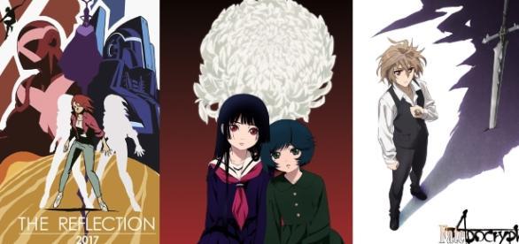 Imágenes promocionales de animes a estrenarse