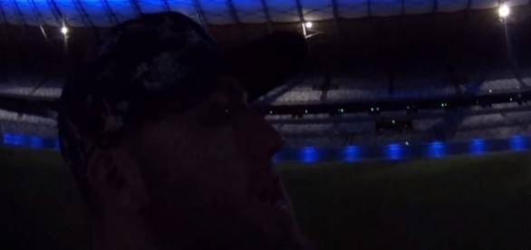 Youtuber Lucas Rangel conseguiu uma entrada que muitos fãs de futebol invejaram