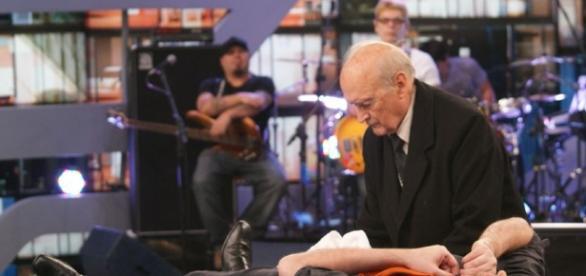 Padre Quevedo participou em umas de suas últimas aparições na mídia em programa de entrevistas de Danilo Gentili