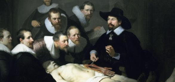 The Anatomy Lesson of Dr. Nicolaes Tulp - 1632, Rembrandt CC BY