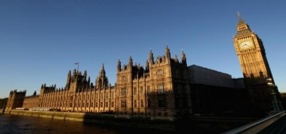 The power passed from the Monarch to Parliament