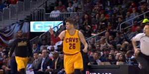 Kyle Korver will likely stay in Cleveland - YouTube/NBA