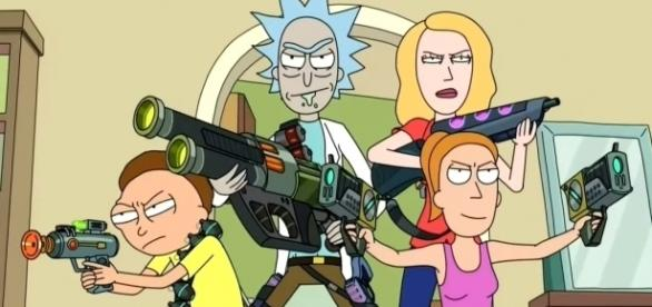 """'Rick and Morty' Season 3 Episode 2: """"Rickmancing the Stone."""" (Photo by EmergencyAwesome / YouTube)"""