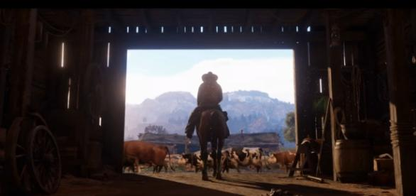 """Rumor has it that Rockstar is pursuing cross-network play for """"Red Dead Redemption 2"""" (via YouTube/Rockstar Games)"""