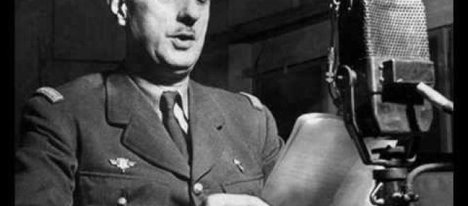 18 juin 1940 : quel discours ?