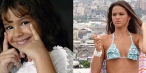 Antes e depois de artistas mirins que cresceram. E como cresceram!.