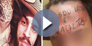 A vida do tatuador e do tatuado uma semana após crime