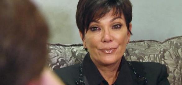 Kris Jenner from a screenshot from TV