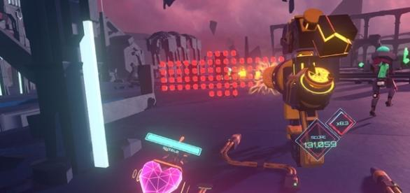 Surviving a neon wasteland in Blasters of the Universe - SelectButton - selectbutton.com