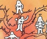 Escolha uma pessoa da árvore e descubra qual é seu estado emocional