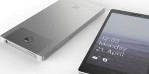 Microsoft Surface Phone Speculated Design(Sudeep Pandey YouTube Channel)