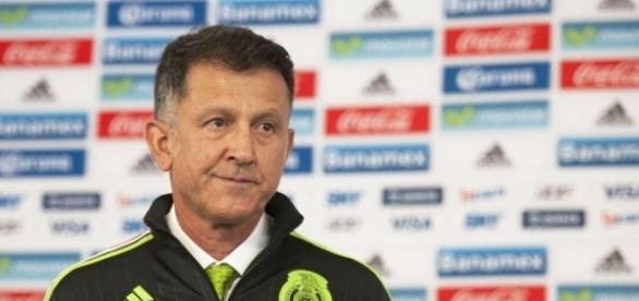 El técnico de la Selección Mexicana, Juan Carlos Osorio