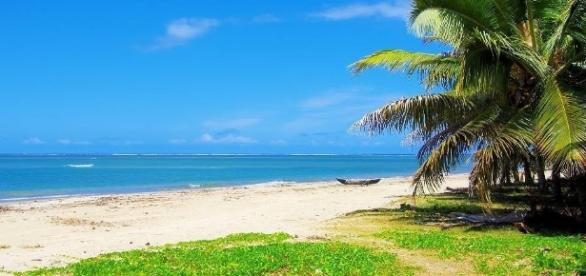 la plage de Foulpointe aux sables fins