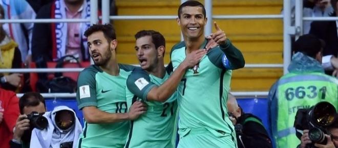 Cristiano con gol tempranero rescata a una Portugal de más a menos contra Rusia