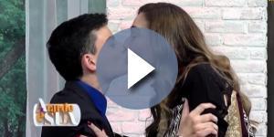 Dudu Camargo beija Sonia Abrão