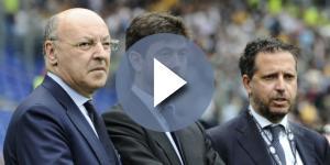 La dirigenza della Juventus - nell'immagine Marotta, Agnelli e Paratici - al lavoro sul calciomercato: possibili cessioni eccellenti