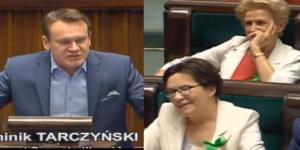 Poseł Dominik Tarczyński (źródło: sejm.gov).