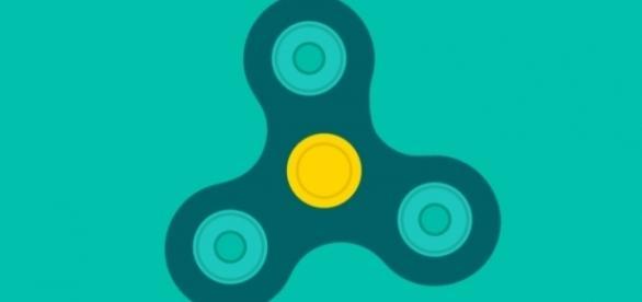 Even Google has jumped on the fidget spinner bandwagon by creating a virtual fidget spinner simulation. Image: Screencap via Google