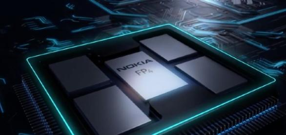 le composant FP4 des nouveaux routeurs nokia