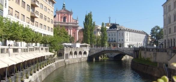 Lublana leży nad Lublanicą (fot. Krzysztof Krzak)