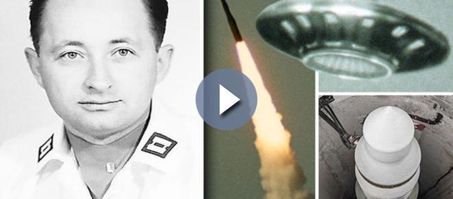 Militar admite intervenção de ovni em mísseis nucleares dos EUA
