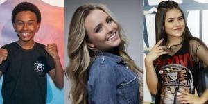 Artistas mirins que já ficaram milionários. Saiba quanto ganham Larissa Manoela, Maísa, Jean Paulo e João Guilherme. (Foto: Reprodução)