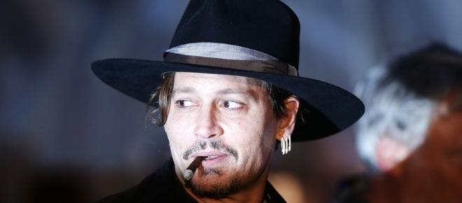 Johnny Depp makes Trump assassination joke at Glastonbury Festival
