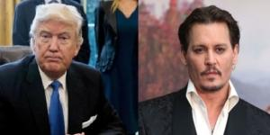 Donald Trump, Johnny Depp, via Twitter
