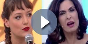 Cantora reclama de preconceito na Fátima Bernardes - Google