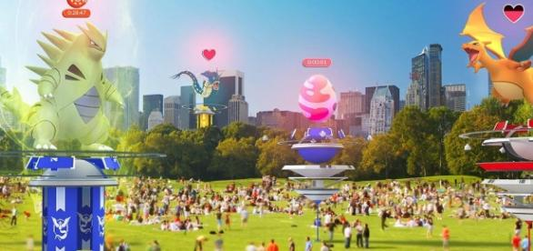 """""""Pokemon GO"""" players must be at least level 35 in order to join raids (via Twitter/Pokemon GO)"""