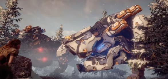 """The massive success of """"Horizon Zero Dawn"""" has opted Sony to create a franchise for the game (via YouTube/PlayStation)"""