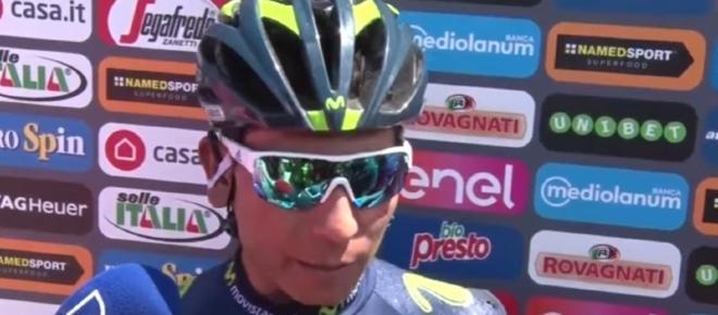 Ciclismo, Movistar: 'L'alleato di Quintana è il tempo'