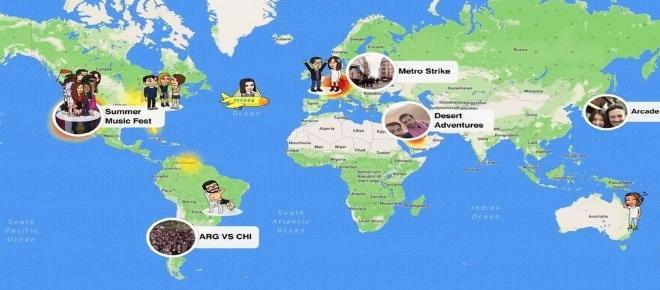 Avec Snap Map, vous pouvez désormais géolocaliser vos amis
