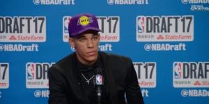 Lonzo Ball is the newest Lake [Image via Sports Buzz/YouTube screencap]
