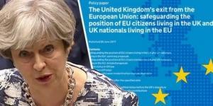 """Theresa May, primul ministru al Regatului Unit, a făcut o """"ofertă"""" pentru drepturile cetățenilor din UE aflați în UK"""