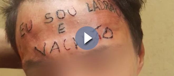 Reviravolta: a verdadeira culpa do caso do tatuado na testa vem à tona