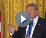 President Donald Trump: Image credit: President Donald Trump Live Speech & News 2017 | Youtube