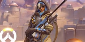 "Ana is one of the support characters in the hit shooter title ""Overwatch"" (via YouTube/PlayOverwatch)"