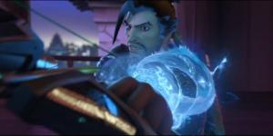 "Hanzo is considered as one of the most interesting yet difficult characters in ""Overwatch."" [Image via YouTube/PlayOverwatch]"
