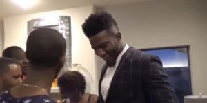 "Jordan Bell: ""F*ck Bron Bron!"" - YouTube screenshot via NBA Highlights"