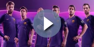 Le FC Barcelone dévoile ses maillots 2016-2017 signés Nike - footpack.fr