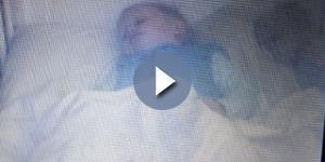 UK, fantasma dorme nella culla del bimbo