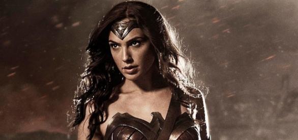 La actriz Gal Gadot como Wonder Woman