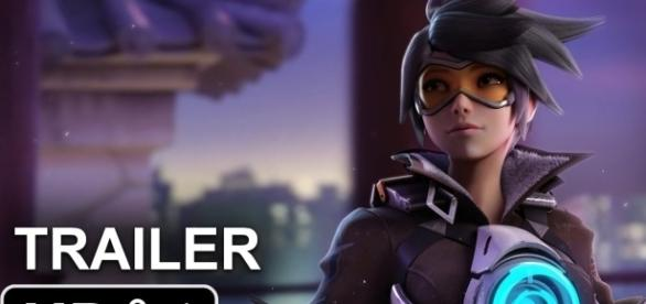 """""""Overwatch"""" Movie Trailer (Image via Lion Montages / YouTube)"""