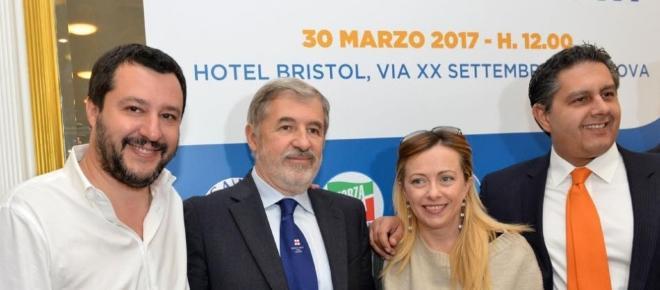 Marco Bucci del centrodestra Sindaco di Genova