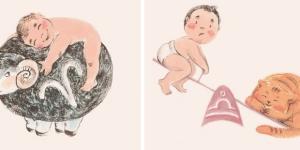 Como agem os bebês de cada signo? ( Ilustração: Reprodução)