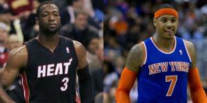 Dwyane Wade and Carmelo Anthony to the Cavs? Keith Allison Flickr