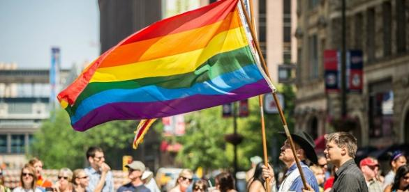 Every year the LGBTQ community and its allies come together to celebrate Pride month in June. Photograph courtesy of: Wikimedia Commons